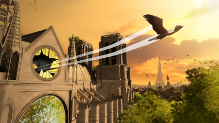Eagle Flight: Screenshot zum Titel.