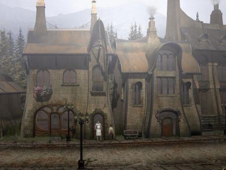 Syberia: Screenshot zum Titel.