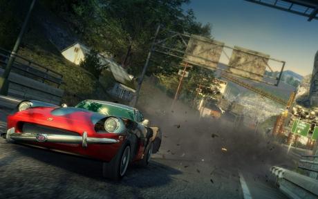 Burnout Paradise: Screen zum Spiel.
