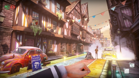 We Happy Few: Screenshot zum Titel.