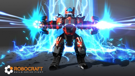 Robocraft: Screenshot zum Titel.