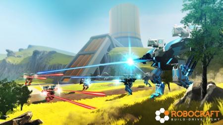 Robocraft: Screenshot zum Titel.