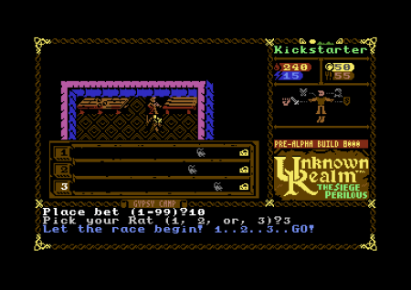 Unknown Realm: The Siege Perilous: 8-Bit Screen zum Titel Unknown Realm: The Siege Perilous.