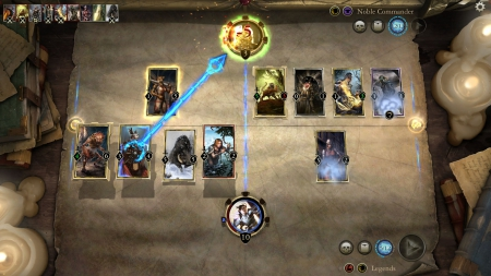 The Elder Scrolls: Legends: Screen zum Spiel The Elder Scrolls: Legends.