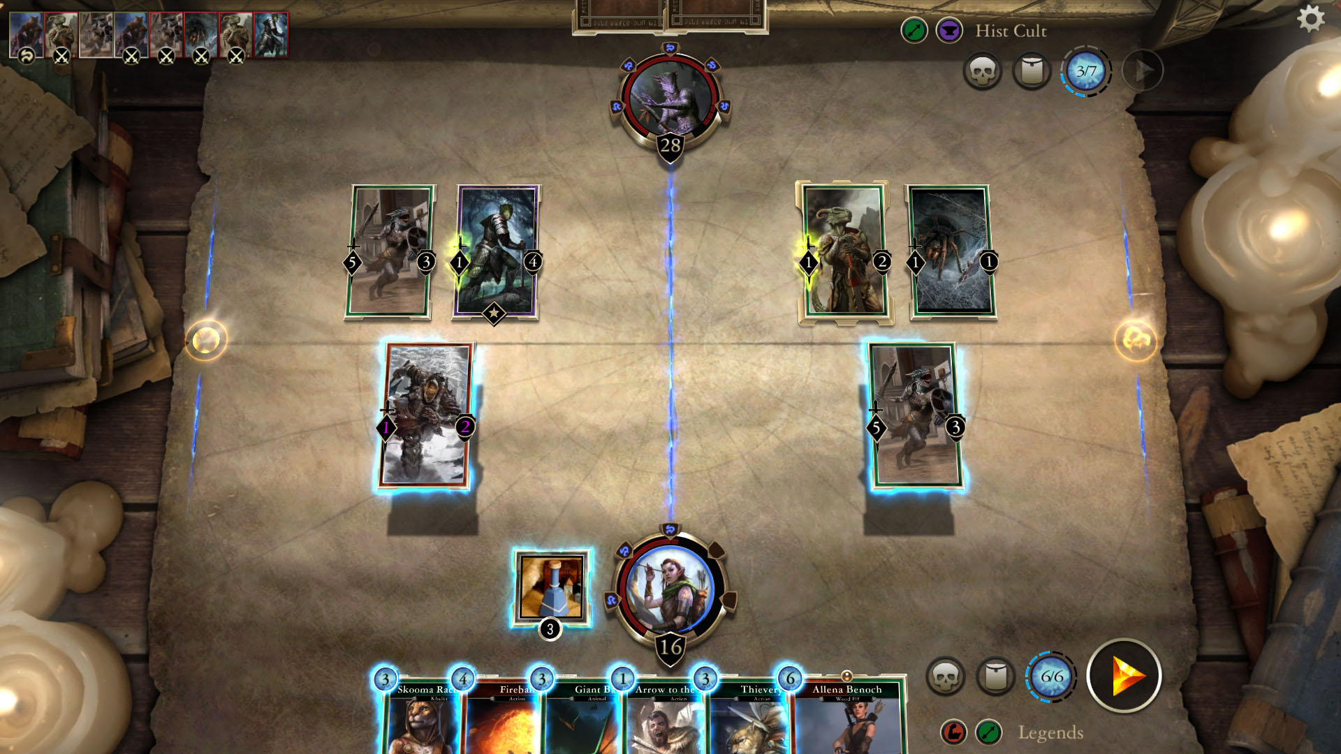 The Elder Scrolls: Legends: Screen zum Spiel The Elder Scrolls: Legends.