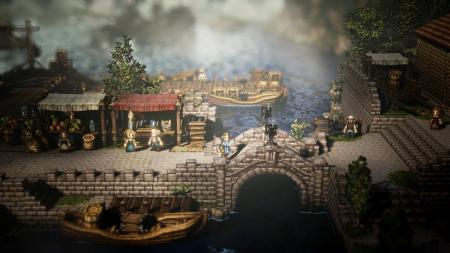 Project Octopath Traveler: Screen zum Spiel Project Octopath Traveler.