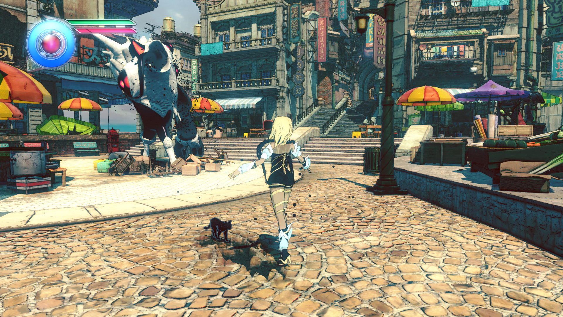 Gravity Rush 2: Official Screenshots