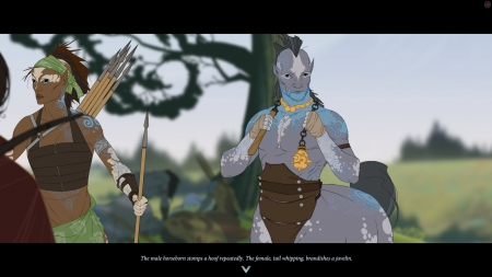 The Banner Saga 2: Screenshot zum Titel.