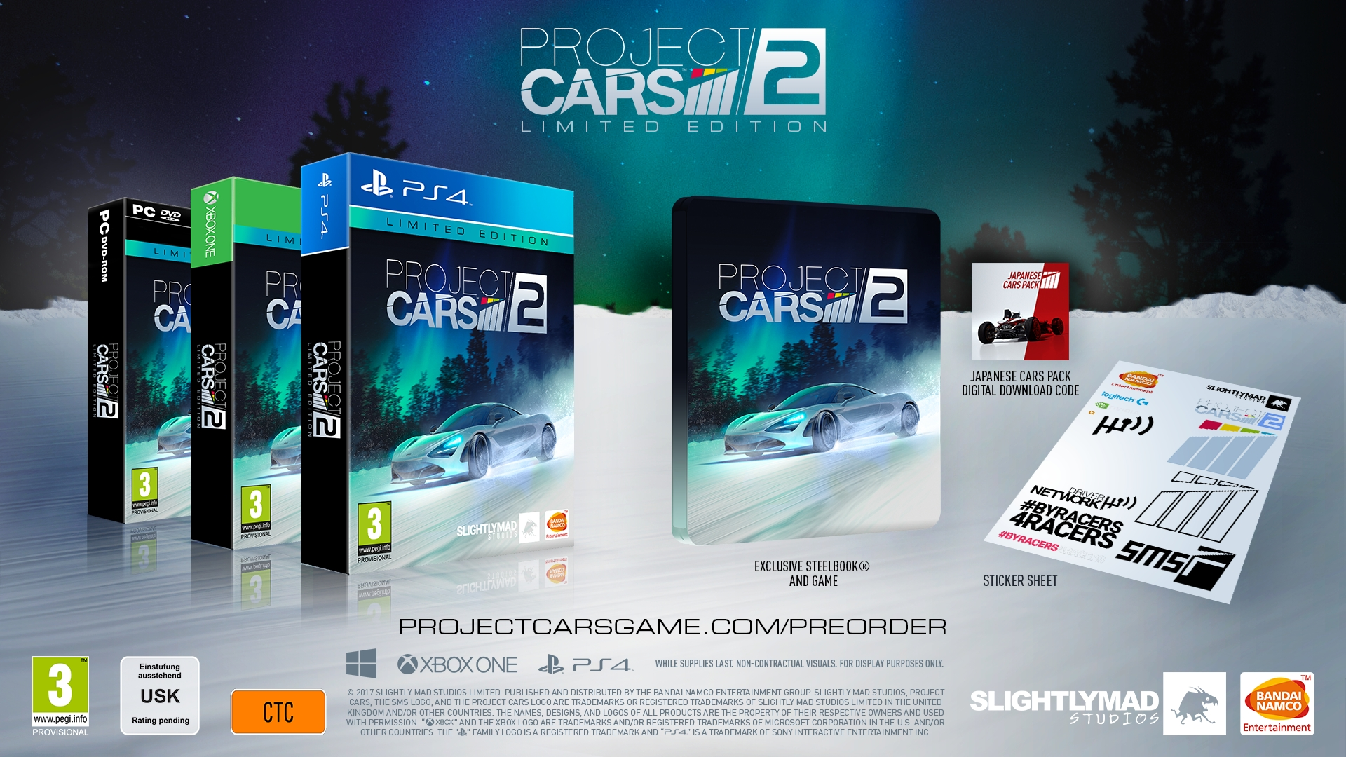 Project CARS 2: Packshot Limited Edition