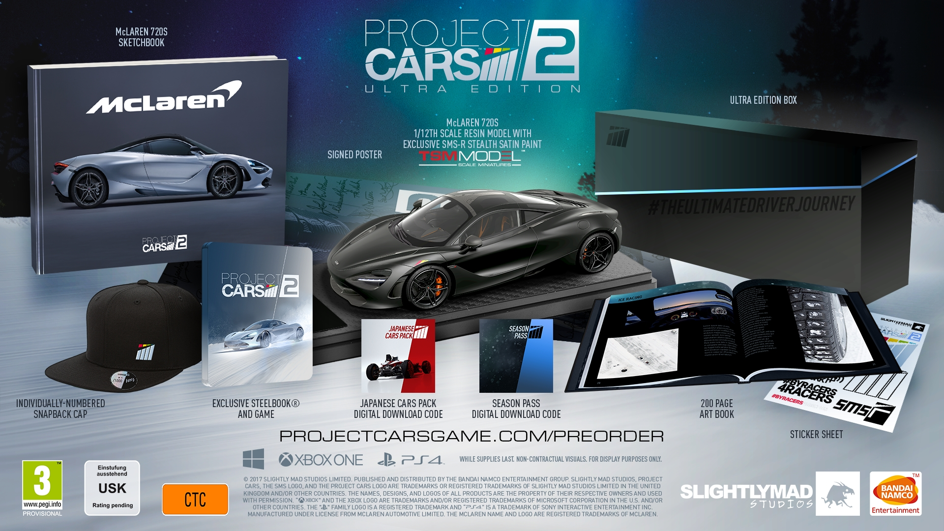 Project CARS 2: Packshot Collectors Edition