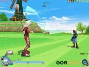 PangYa: Screenshot aus Golfspiel PangYa