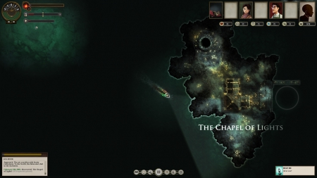 SUNLESS SEA: Screenshot zum Titel.