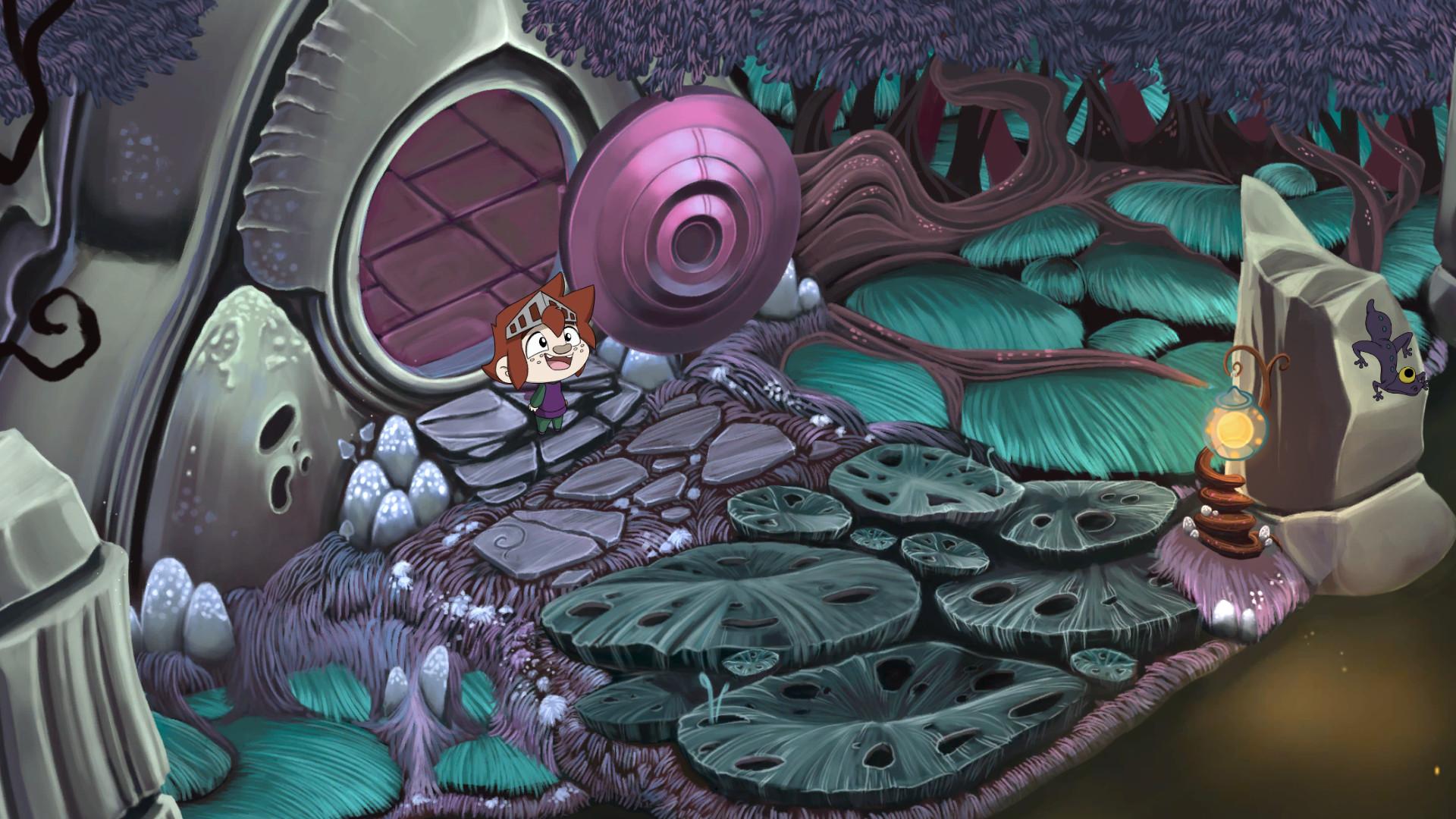 The Little Acre: Screenshot zum Titel.