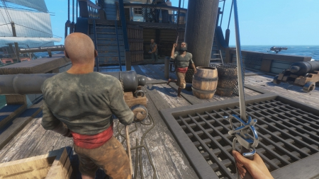 Blackwake: Screenshot zum Titel.