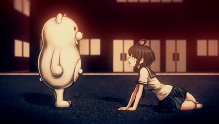 Danganronpa Another Episode: Ultra Despair Girls: Screenshot zum Titel.