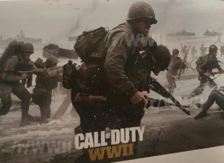 Call of Duty WW2 - Werbebanner in Frankreich verkündet Release-Date - Vorverkauf auf Amazon gestartet