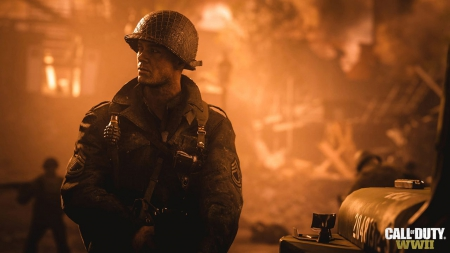 Call of Duty WW2: Screen zum Spiel Call of Duty WW2.