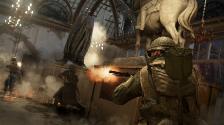 Call of Duty: WW2: Screen zum Spiel  Call of Duty WW2 zum 3. DLC United Front.