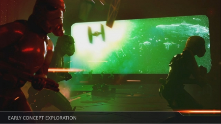 Star Wars Battlefront 2: Star Wars Celebration - ART Pictures and Ingame Screens