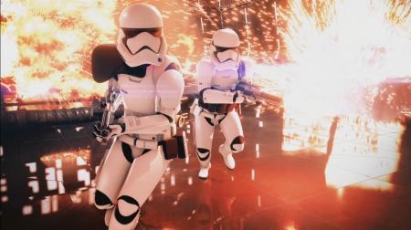 Star Wars Battlefront 2: Star Wars Celebration - ART Pictures and Ingame Screens
