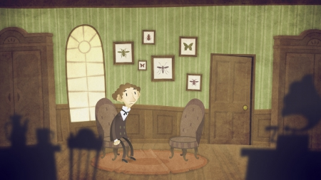 The Franz Kafka Videogame: Screen zum Spiel The Franz Kafka Videogame.