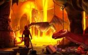 The Book of Unwritten Tales: Nate in der Drachenhöhle.