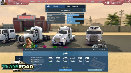 Transroad USA: Official Screenshots