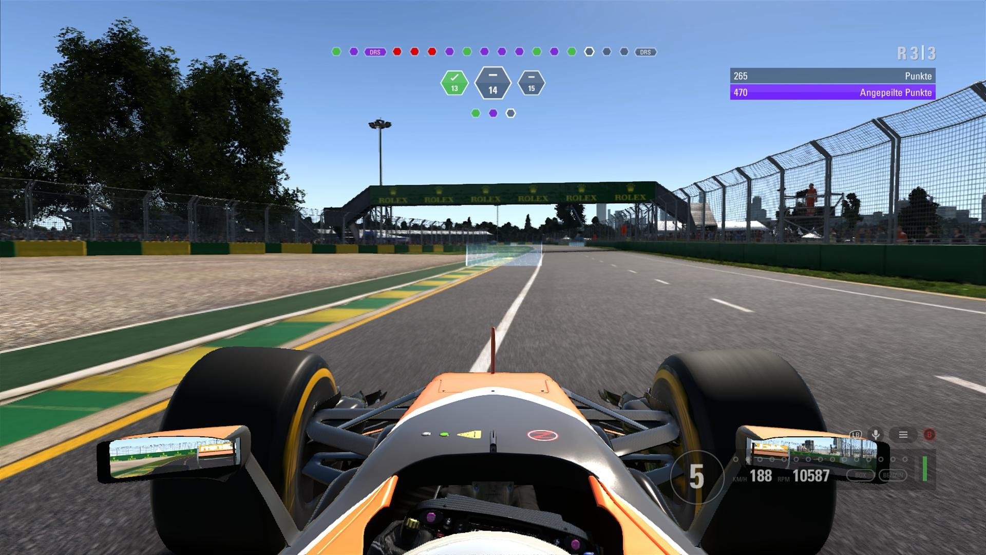 F1 2017: Screenshots aus dem Spiel