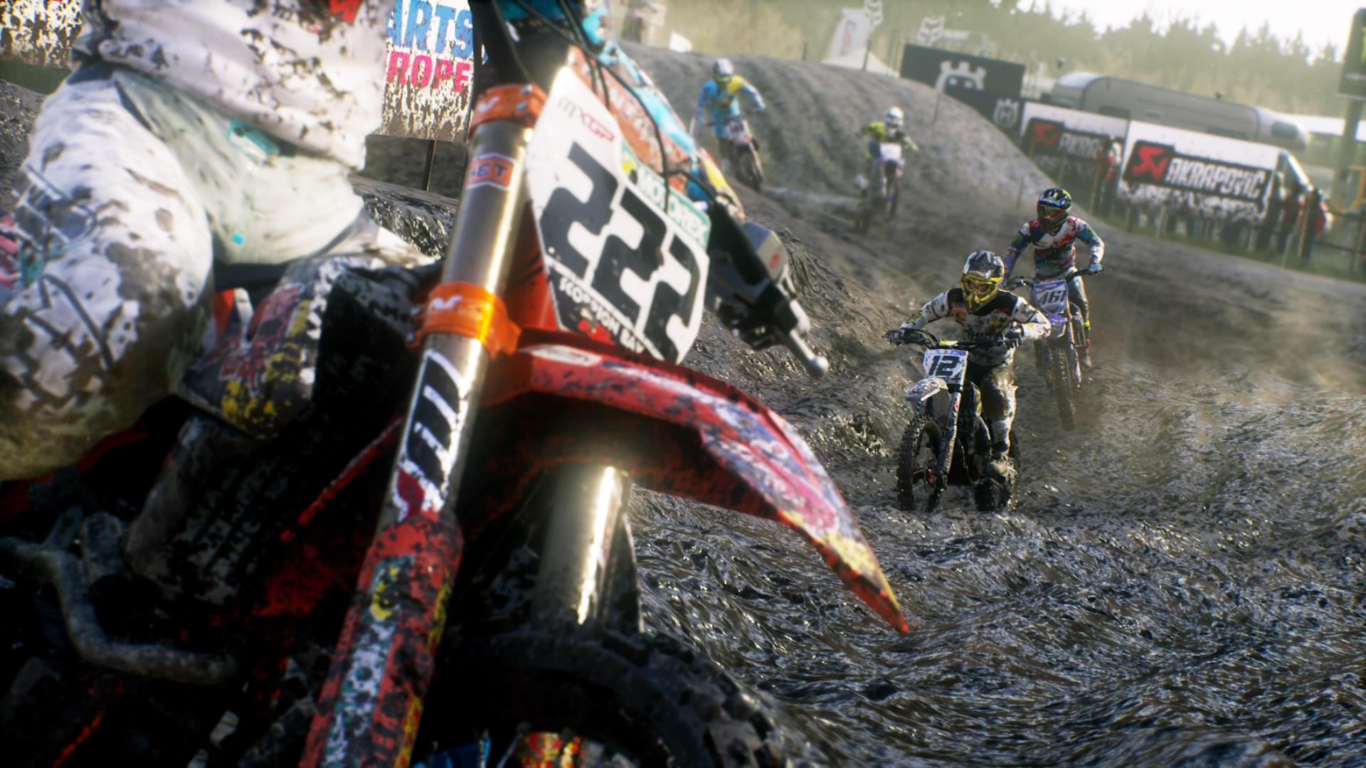 MXGP3 - The Official Motocross Videogame: Screenshots aus dem Spiel