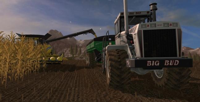 PC Test - LS17 - Big Bud Addon Größere Traktoren und Ausrüstungen sorgen für noch mehr Spaß mit einem kleinen bitteren Beigeschmack.