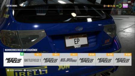 Need for Speed Payback: Screenshots aus dem Spiel
