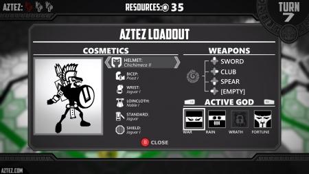 Aztez: Screen zum Spiel Aztez.