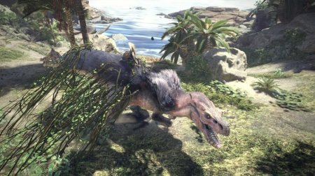 Monster Hunter: World: Screen zum Spiel Monster Hunter: World.