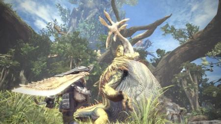 Monster Hunter: World: Screen zum Spiel Monster Hunter: World.