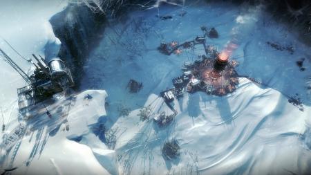 Frostpunk: Screen zum Spiel.