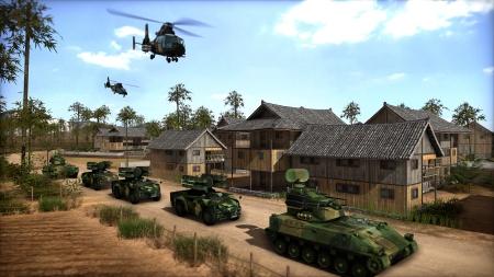 Wargame: Red Dragon: Screenshot zum Titel.