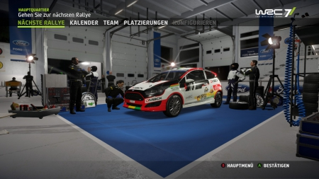 WRC 7: FIA World Rally Championship: Screenshots aus dem Spiel