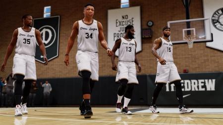 NBA Live 18: Screen zum Titel NBA Live 18.
