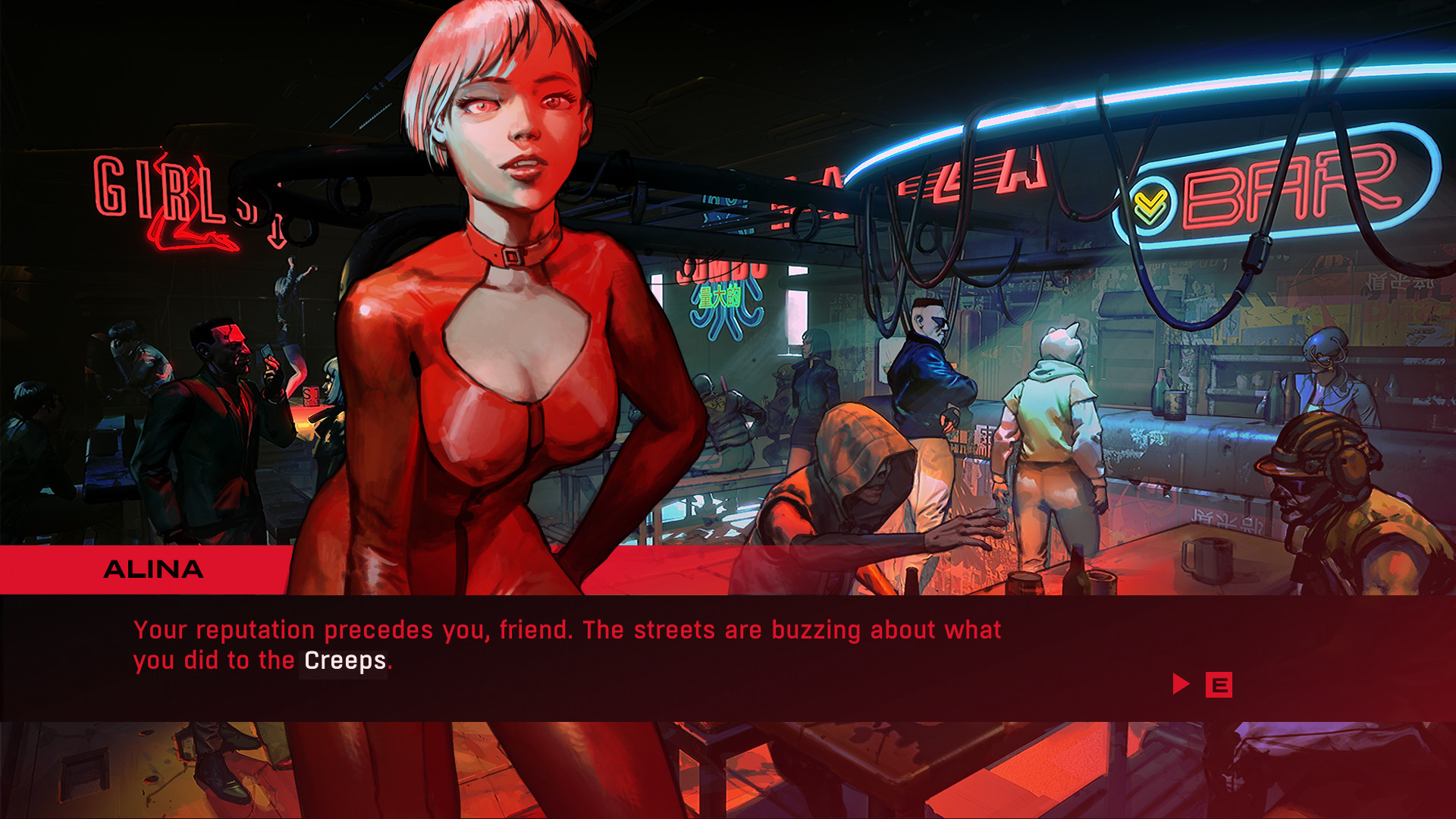 RUINER: Screen zum Titel Ruiner.