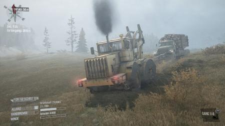 Spintires: MudRunner: Screenshots aus dem Spiel