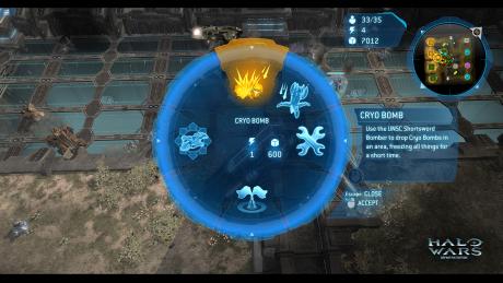 Halo Wars: Screen zum Spiel Halo Wars.