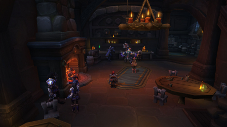 World of Warcraft: Battle for Azeroth: Screen zum Spiel   WOW: Battle for Azeroth, Boralus in der finalen Version.