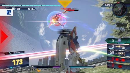GUNDAM VERSUS: Screenshots aus dem Spiel
