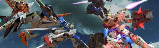 GUNDAM VERSUS - Über 30 Jahre Gundam Geschichte treffen aufeinander