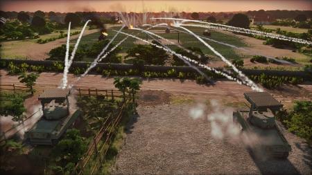 Steel Division: Normandy 44: Screen zum Spiel Steel Division: Normandy 44.