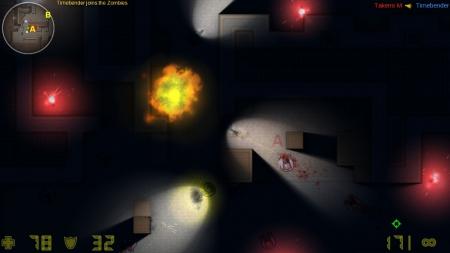 CS2D: Screen zum Spiel CS2D.