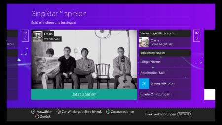 Singstar Celebration: Screenshots aus dem Spiel