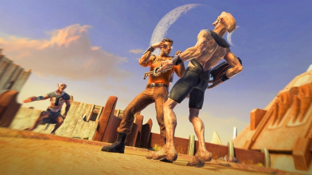 Outcast - Second Contact: Screen zum Spiel Outcast - Second Contact.