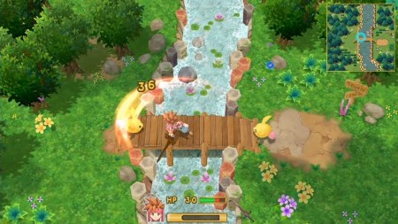Secret of Mana: Screen zum Spiel Secret of Mana.