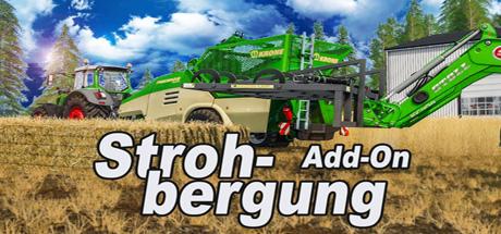 Landwirtschafts-Simulator 17 Strohbergung Addon